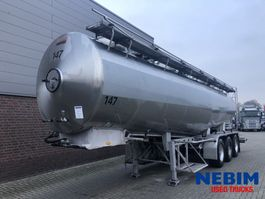 tank semi trailer semi trailer Magyar SRP 3 MEB - IBEX PUMP / HOBUR 1990