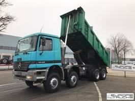 tipper truck > 7.5 t Mercedes-Benz Actros 4140 8x8 - Full steel - Manual - 22m3 1999