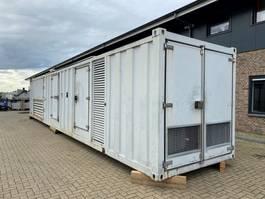 generator MTU 12V 4000 Leroy Somer SDMO 1550 kVA Supersilent generatorset in container 2010