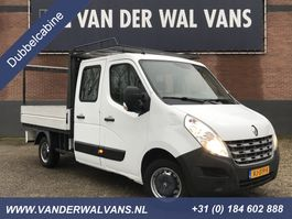 platform lcv Renault Master T35 2.3dCi Pick-up Dubbele Cabine | 7-persoons Airco Trekhaak-2500kg 2014