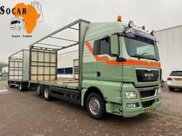 drop side truck MAN TGX 26.440 6X2 + TRIAS 512-200 4+4 Aanhanger -> bj 2012 !!!COMBINATIE!! 2010