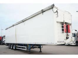 walking floor semi trailer Stas S300ZX Schubboden 92m³ 10mm Rollplane 2011