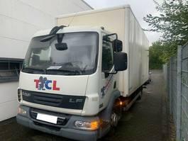 closed box truck DAF LF 45.180/LBW/Koffer/Tempomat