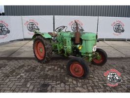 farm tractor Deutz F2L612 / N Farmyard 1956