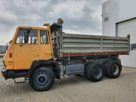 tipper truck > 7.5 t Steyr Andere 1491 MAN 6x4 SHD 1987