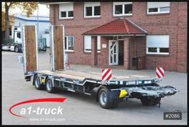 lowloader trailer Schwarzmüller 3-achs Tiefladeanhänger mech Rampen 2020