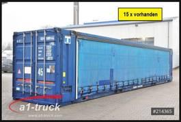 curtain slider swap body container Krone 45 HC Container, Schiebeplane, Seitentüren 2005