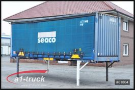 curtain slider swap body container Krone WB 7,45 BDF Container, stapelbar, stabil 1996