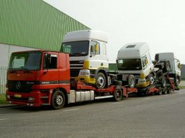 car transporter truck Mercedes-Benz 1840 Mercedes truck transporter
