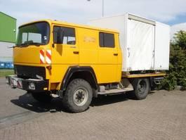 drop side truck Magirus magirus deutz 913 luchtgekoeld crewcab 4x4 1984