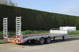 semi lowloader semi trailer Veldhuizen 10,0-tons Semi-dieplader oplegger 2020