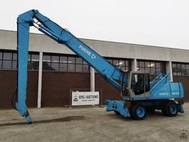 wheeled excavator Fuchs MHL350