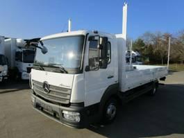 drop side truck Mercedes-Benz ATEGO IV 818 L PRITSCHE 6,10 m*3-Sitzer*KLIMA 2016
