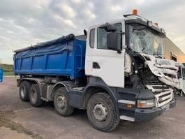 tilt truck Scania R380 8X4 2008