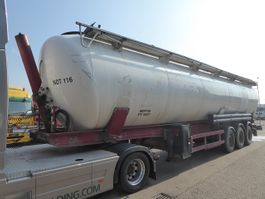 feed semi trailer SPITZER Eurovrac SK 28 AL ,Rieselguter,Granulat,Silo,Cistern 2003