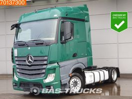 mega-volume tractorhead Mercedes-Benz Actros 1836 LS 4X2 Mega Retarder 2x Tanks Euro 6 2013