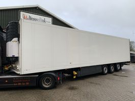 refrigerated semi trailer Burg SKO 24 Carrier Maxima 1300 Liftachse 270H LBW Blumen/Flowers 2006