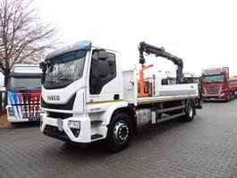 crane truck Iveco EuroCargo 190-280L mit HIAB 111 Kran 2016