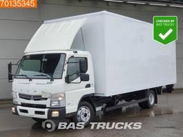 closed box truck Mitsubishi Canter Fuso 7C18 4X2 German-Truck Ladebordwand Euro 6 2016