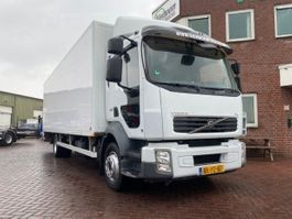 closed box truck Volvo FL240 4X2 KOFFER MIT LADEBORDWAND 2010
