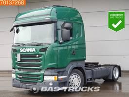 mega-volume tractorhead Scania R370 4X2 Mega Retarder 2x Tanks Euro 6 2014