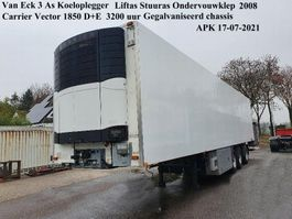 refrigerated semi trailer Van Eck UT-3B  Van Eck 3 As Koeloplegger Liftas Stuuras O.V.Klep 2008 2008