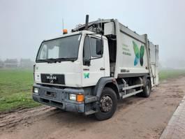 garbage truck MAN 18.284 4X2 EURO 2 6 CYL. GARBAGE TRUCK 2000