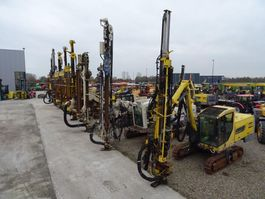 Bohranlage Ingersoll Rand Atlas Copco Furukawa Sandvik Tamrock 15x DRILL MACHINE 10x Water drills 5x Anchoring machine