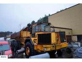 wheel dump truck Volvo A35 6x6 Dumper with good tires. Overhaul gearbox. 1989