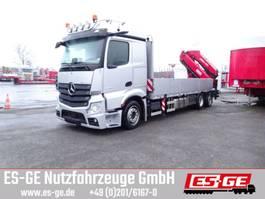 drop side truck Mercedes-Benz 2546 L NR 6x2 Actros, Pritsche, MKG HLK 531 a5 2020