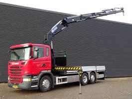 crane truck Scania G490 6x2/4 EURO 6 / HMF 32 t/m KRAAN / CRANE 2014