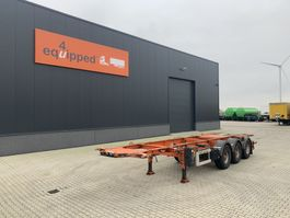 container chassis semi trailer LAG ADR (EXII, EXIII, FL, AT), 20FT/30FT, BPW, LIFTAXLE, NL-CHASSIS, 5x available 2009