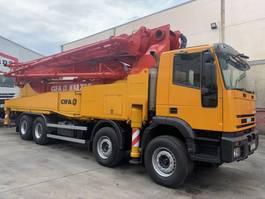 concrete pump truck Iveco Eurotrakker Cifa K47 XRZ 2004