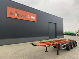 container chassis semi trailer LAG ADR (EXII, EXIII, FL, OX, AT), 20FT/30FT, BPW, Liftachse, NL-Chassis, 5x vorhanden 2009