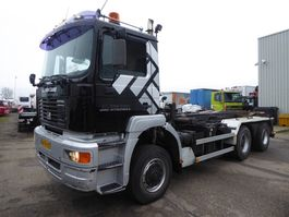 chassis cab truck MAN TGA 26.410 DFA 6X6,, euro 3 manual gearbox, 2002