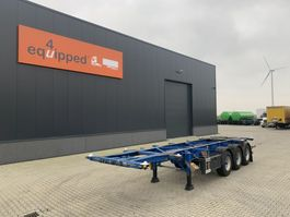 container chassis semi trailer Groenewegen 20FT/30FT, ADR (EX/II, EX/III, OX, FL, AT), ALCOA, NL-Chassis , GVW: 41.000kg 2006