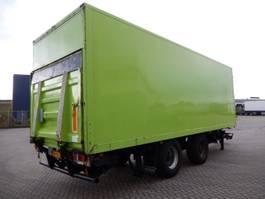 closed box trailer Groenewegen DRE 9 9 Wipkar T.b.v. Stalling en Opslag - Langzaam Verkeer Gesloten, WR... 1996