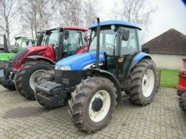 farm tractor New Holland TD 95 D 4x4 Allrad, Klima, Top Zustand 2003