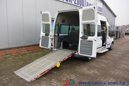 taxi bus Ford Transit 125T300 9 Sitze & Rollstuhlrampe 1. Hand 2013