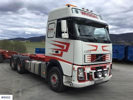 container truck Volvo FH660 hook lift & Nor-Slep hook trailer w / tipper 2006