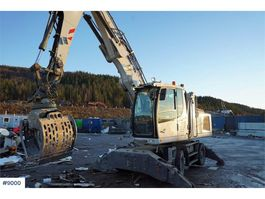 wheeled excavator Liebherr LH22M Litronic w / liftable cabin & rotating pinch 2013