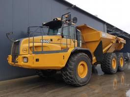 articulated dump truck Bell B50D 2014
