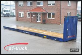 curtain slider swap body container Krone 10 x 45 HC Container, Plateau offen, 2005