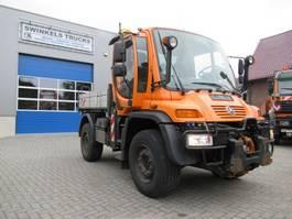 tipper truck Unimog U400  405/12  Kipper  Komunalfahrzeug 2006