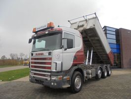tipper truck > 7.5 t Scania 164G480 V8 / 8x4 / Tipper / Full Steel / Manual 2000