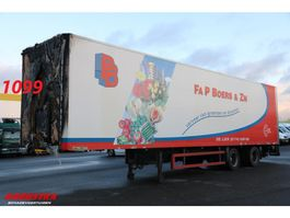 closed box semi trailer DRACO TXA 232 Oplegger LBW 2000