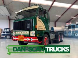 heavy duty tractorhead Volvo F89 6x4 heawy duty inkl. Dozer and trailer 1976