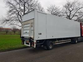 closed box semi trailer Pacton T1-001 2003