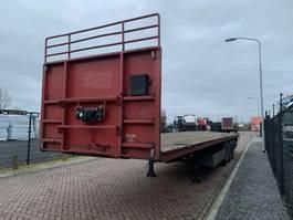 flatbed semi trailer Pacton T3-001 / Twist-locks / MB Axles / Disc Brakes 2006