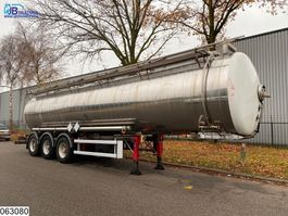 tank semi trailer semi trailer MAISONNEUVE Chemie 32428 liter, 4 bar, 125c, Isolated tank 1998
